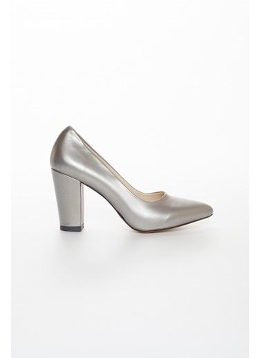 Dilimler Ayakkabı Ayakkabı Gümüş